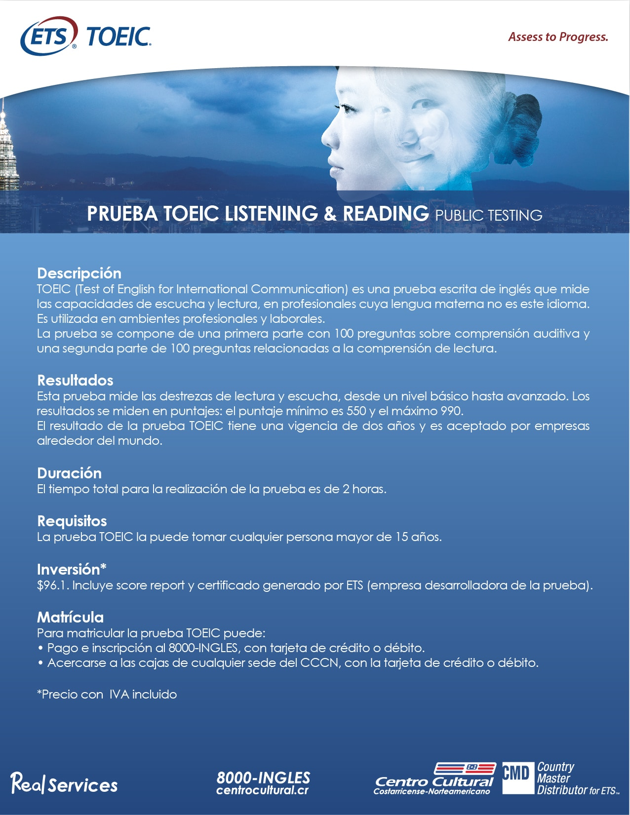 FICHA PRUEBA TOEIC L&R PUBLIC TESTING